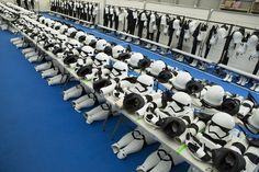 The Force Awakens' Stormtrooper Dressing Room is the Coolest Thing You'll See Today