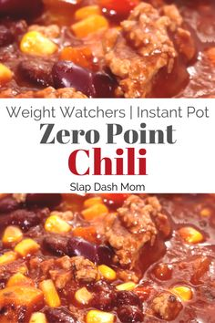 Weight watcher meals 162411130299318367 - Weight Watcher Friendly 0 Point Chili–Great For Soup or Hotdogs! – Slap Dash Mom Looking for a good chili recipe that is Weight Watchers Friendly and low in points? Try this amazing 0 Point chili! Weight Watchers Hamburger Recipe, Weight Watchers Chili, Weight Watchers Snacks, Wieght Watchers, Ww Recipes, Chili Recipes, Crockpot Recipes, Cooking Recipes, Healthy Recipes