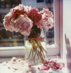 Pink Peonies by Burrs & Berries, via Flickr