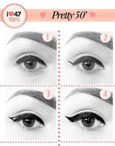 4 Steps to get that perfect Winged Eyeliner