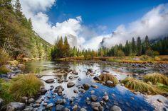 Yosemite River by Christian Fuß, 500px #Yosemite