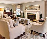 Traditional Neutral Living Room   Traditional
