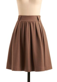 Modcloth Graham Scheme of Things Skirt.  - I'm making one of these for my fall wardrobe!