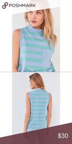 BDG Striped Tank Top NWT Cotton Urban Outfitters Tops Tank Tops