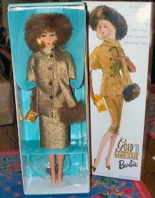 2002 Gold 'N Glamour Vintage Barbie Reproduction Barbie Paper Dolls, Barbie I, Vintage Barbie Dolls, Barbie And Ken, Barbie Style, Beautiful Barbie Dolls, Glam Girl, Ken Doll, Barbie Collector