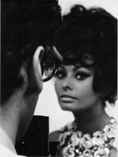 Sofia Loren seen by Richard  Avedon, 1966. (Photo: Tazio Secchiaroli)