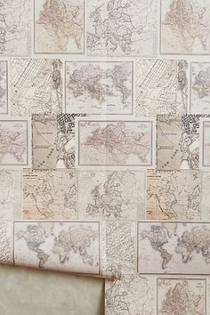 Around The World Wallpaper - anthropologie.com