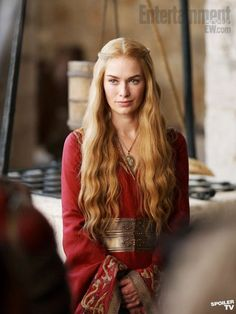 For such an unlikable character, Cersei has the best hair in Westeros (besides Robb and Daenerys, of course).