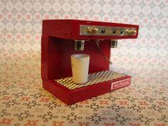 Red espresso machine | Flickr - Photo Sharing!