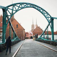 bridge.  #Wroclaw by jn