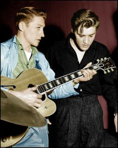 The story of two Legends: Elvis Presley and Scotty Moore.