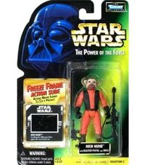 Star Wars Power of the Force Green Card Nien Numb Action Figure