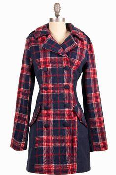 The Edinburgh Tartan Coat (poetrie) $74.99