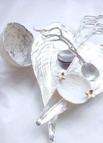 ... bowls+Mussel shell Risotto /Paella server+seaweed sugar spoons ABODA