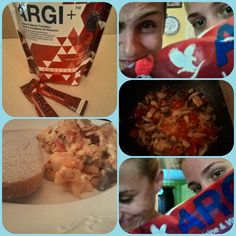 Argi+ and breakfast with my Love :-)