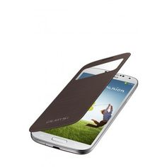 Funda S-View Cover Galaxy S4 - Sedna brown