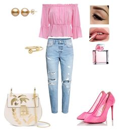 """Untitled #33"" by dedic-elvira ❤ liked on Polyvore featuring Dondup, Christian Louboutin, Chloé, J.W. Anderson and Ralph Lauren"