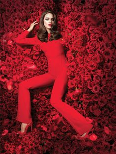Maybelline 2014 calendar - Emily DiDonato
