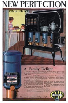New Perfection Oil Cook Stoves - 19190700 People's Home Journal