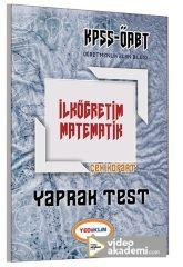 2017 ÖABT İlköğretim Matematik Öğretmenliği Çek Kopart Yaprak Test Yediiklim Yayınları