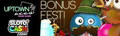 SLOTOCASH & UPTOWN ACES DEPOSIT BONUS - OCTOBER BONUS FEST - 150%, 200% & $100 FREE CHIP  October is a great month to officially start celebrating special holidays. And we're not just talking Halloween, but also Mr. Sloto's October Bonus Fest!