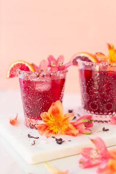 Mezcal Margarita, Blood Orange Margarita, Mezcal Cocktails, Jalapeno Margarita, Blood Orange Juice, Margarita Recipes, Citrus Juice, Fresh Lime Juice, Tea Concentrate Recipe