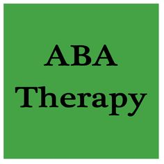 ABA Therapy Resources and Info- a board for therapists and parents #Autism #ABATherapy