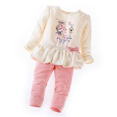 >> Click to Buy << 2016 new Style Full girl set children sets baby set tops+pants 2pcs set infant girl clothes #Affiliate