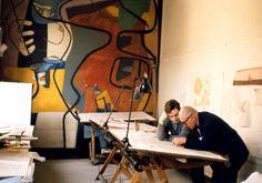 "ach-thebrother: "" ahoradote: ""  Le Corbusier in Paris, 1959. Photo by René Burri "" fotografo svizzero (1933-2014) """