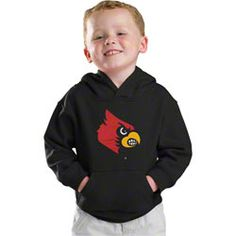 Louisville Cardinals Kids 4-7 Black adidas Tackle Twill Hooded Sweatshirt $19.99 http://shop.uoflsports.com/Louisville-Cardinals-Kids-4-7-Black-adidas-Tackle-Twill-Hooded-Sweatshirt-_-362600382_PD.html?social=pinterest_pfid42-41808