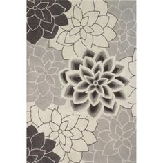 Leaf Pattern Area Rugs