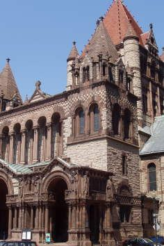 A must see in Boston as Copley Square has amazing architectural works.