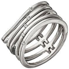 Dreambase Damen-Ring rhodiniert Silber 5 Zirkonia 60 (19.... https://www.amazon.de/dp/B01HHGCB6U/?m=A105NTY4TSU5OS