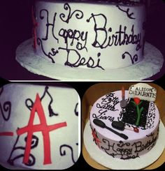 Pretty Little Liars Cake Angles