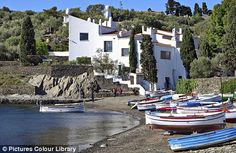 Salvadore Dali's house, Port Lligat, Spain