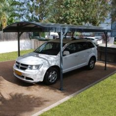 Palram 13x20 Feria Attached Metal Carport Kit Carport