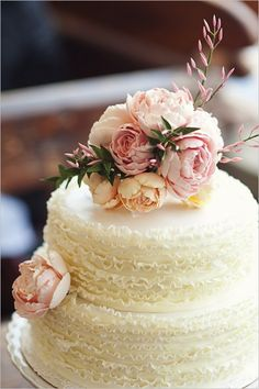 One of my favorite, gorgeous wedding cakes ever!! <3  Bride Ideas - Wedding Planning with Preston Bailey | PrestonBailey.com