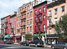 100 block of Atlantic Avenue (north side), Brooklyn Heights, New York
