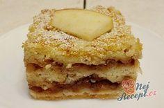 Sypaná hrnková buchta s jablky | NejRecept.cz Czech Recipes, Ethnic Recipes, Bake Sale, Apple Pie, Vanilla Cake, Tiramisu, French Toast, Muffin, Food And Drink