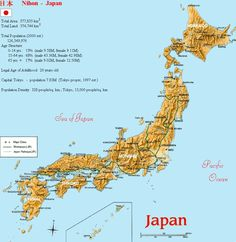 map of japan cities Google Search MAPS Pinterest Japan City