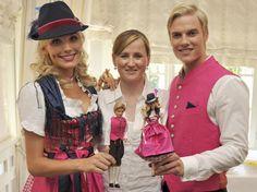 """Wiesn-Dirndl """"Barbie"""" der Schatzi-Designerin   Trachten & Styling"""