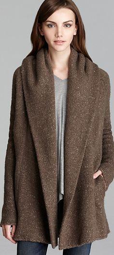Vince Sweater Coat