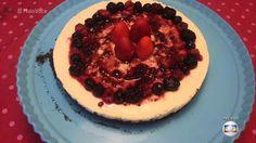 Cheesecake da Clarinha | Tortas e bolos > Cheesecake | Mais Você - Receitas Gshow