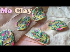 Sue - good Video: great quick easy leaf cane from scrap clay ~ Polymer Clay Tutorials Polymer Clay Tools, Polymer Clay Canes, Fimo Clay, Polymer Clay Projects, Polymer Clay Jewelry, Clay Crafts, Clay Design, Clay Flowers, Clay Tutorials