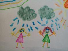 Cliquez ici pour mieux comprendre les dessins des enfants : au niveau des couleurs, des matériaux utilisé, des objets dessinés etc.