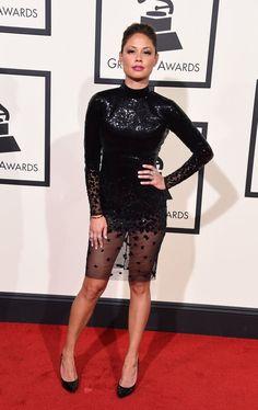 Pin for Later: Voilà Ce Que les Stars Ont Porté Sur le Tapis Rouge des Grammys Vanessa Lachey