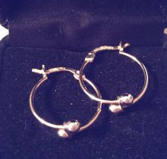 QVC Two-Tone Hoop Earrings with Snap Closure Stamped 14Khttp://www.ebay.com/itm/301240821250?ssPageName=STRK:MESELX:IT&_trksid=p3984.m1555.l2649