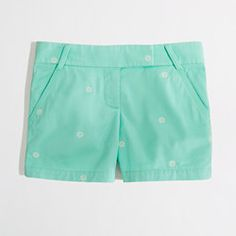 Factory 5 embroidered ship wheel broken-in chino short