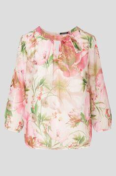 Bluza s cvjetovima Interesting Stuff, Blouse, Long Sleeve, Womens Fashion, Sleeves, Tops, Fashion Women, Blouse Band, Full Sleeves