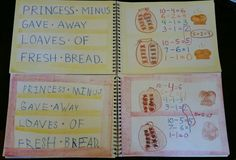Practice with Princess Minus, A Giving Away Bread Story